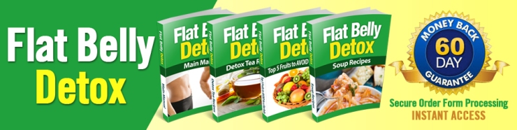 Flat Belly Detox final header
